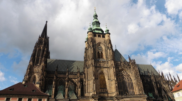 Áldás Prágában
