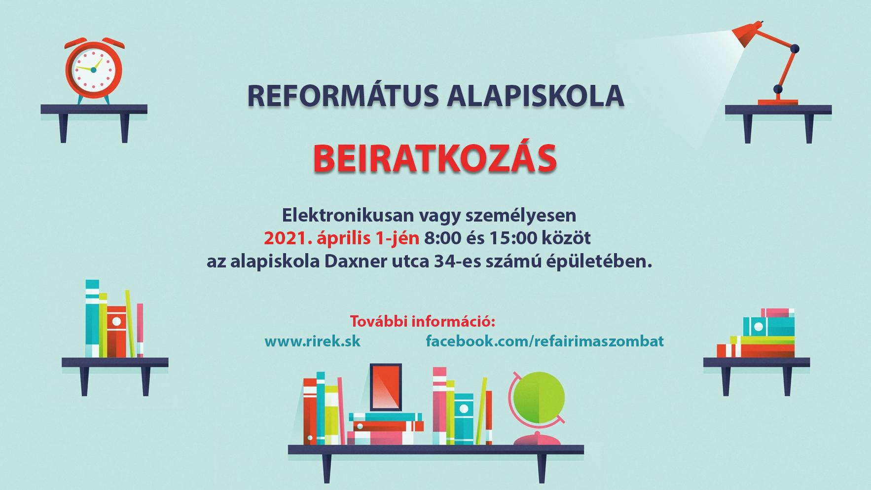 Beiratkozás a Református Alapiskolába